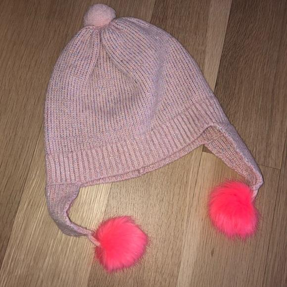 Crewcuts Girls Pom Pom hat